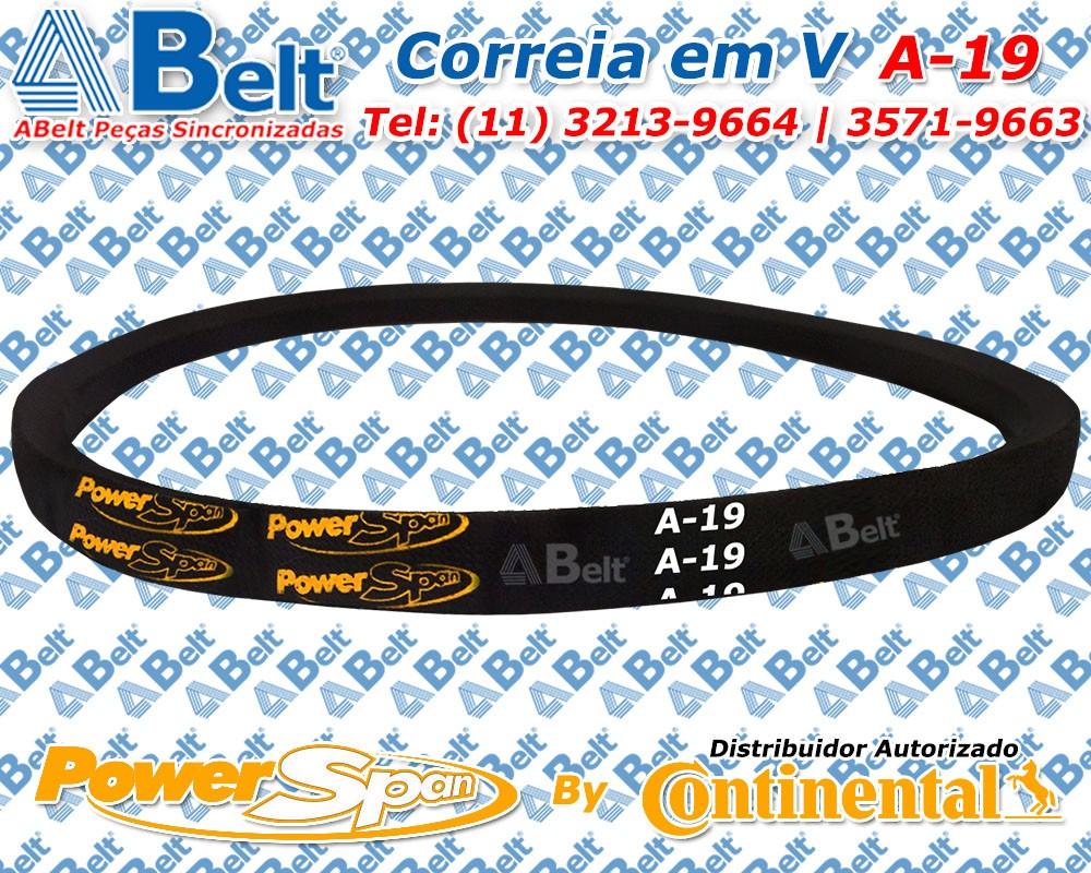 Correia em V Perfil A-19 Power Span Continental Contitech