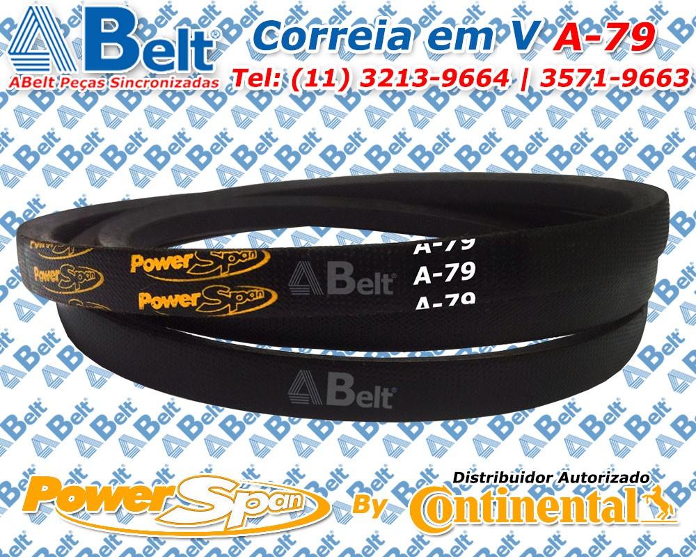 Correia em V Perfil A-79 Power Span Continental Contitech