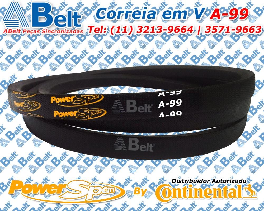 Correia em V Perfil A-99 Power Span Continental Contitech