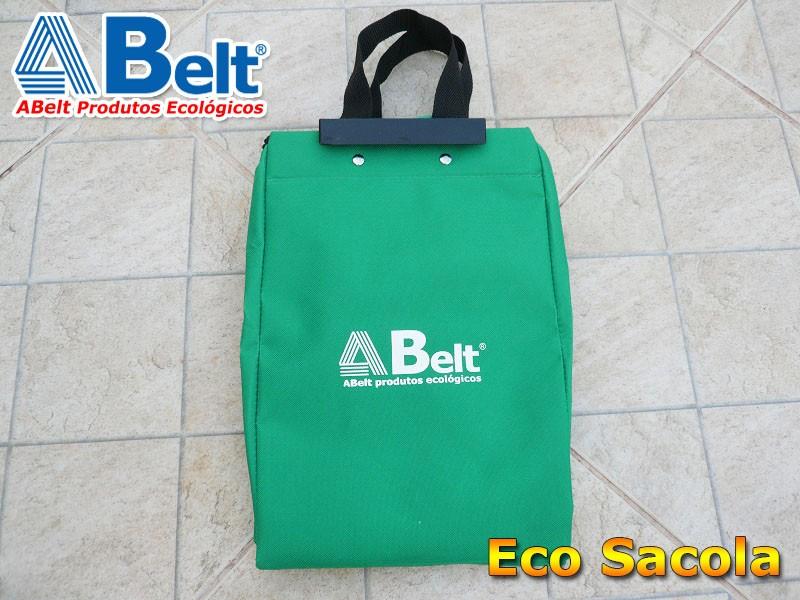 Sacola ecológica verde