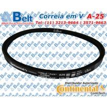 Correia  V perfil A-25 Continental Contitech