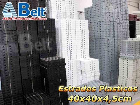 Estrado Plástico 40x40x4,5cm