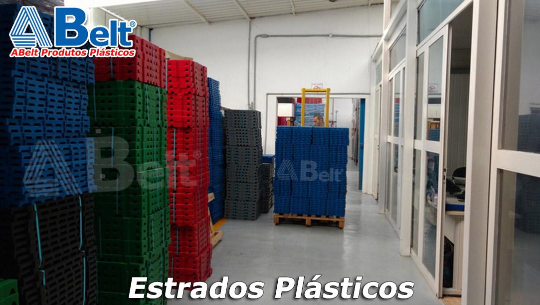 Estrado Plástico 50x50x5cm