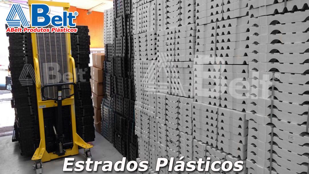 Estrado Plástico 50x50x9cm