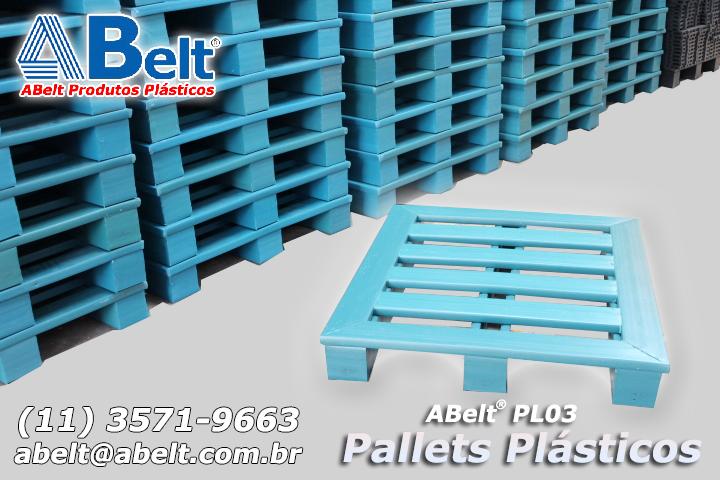 Pallet plástico PL03-S Standard