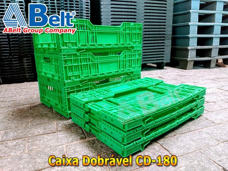 Caixa dobravel CD180 de 35 Litros