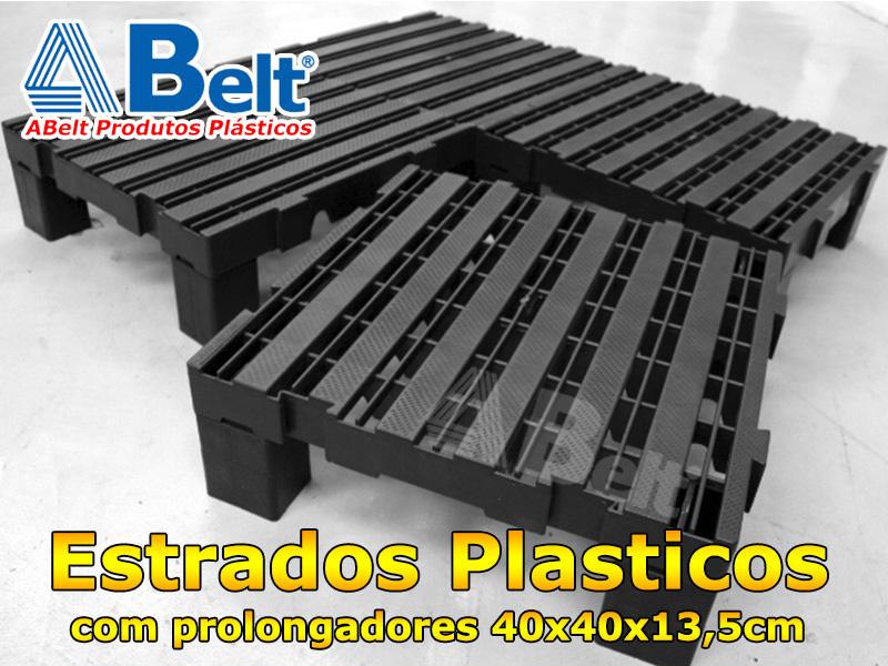 Estrado Plástico 40x40x13,5cm