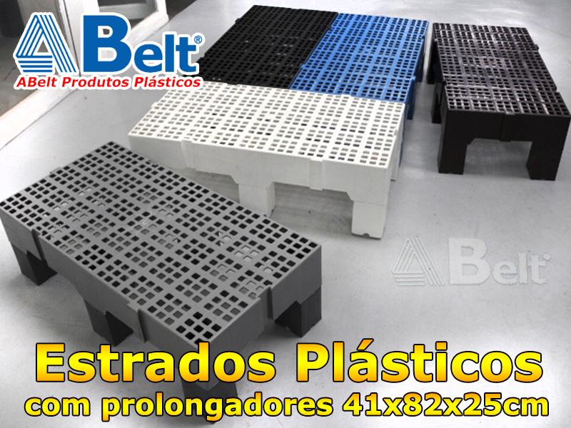 Estrado Plástico 41x82x25cm