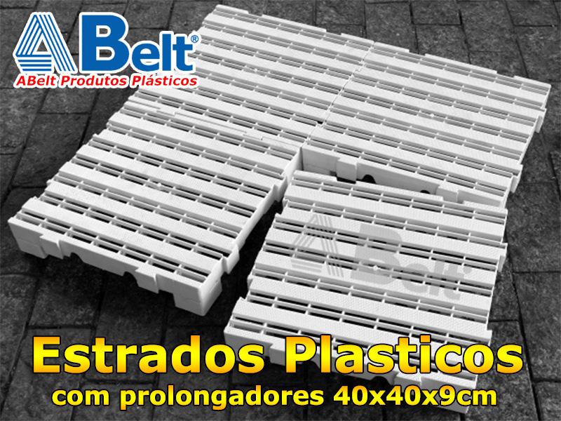 Estrado Plástico 40x40x9cm