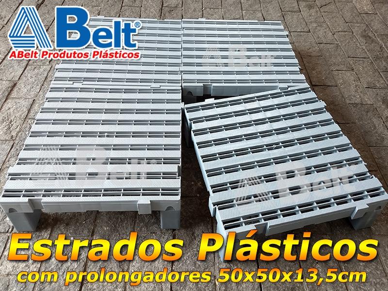 Estrado Plástico 50x50x13,5cm