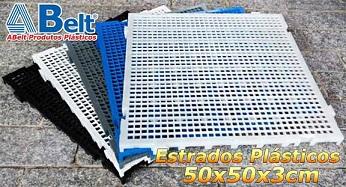Estrado Plástico 50x50x3cm