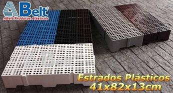 Estrado Plástico 41x82x13cm