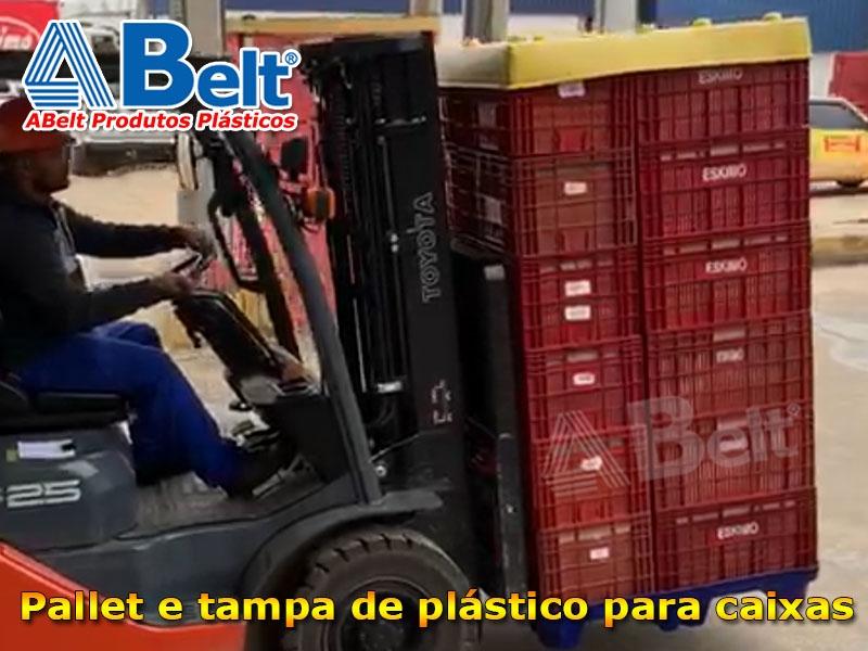 Pallet plástico PL04-T Termoformado