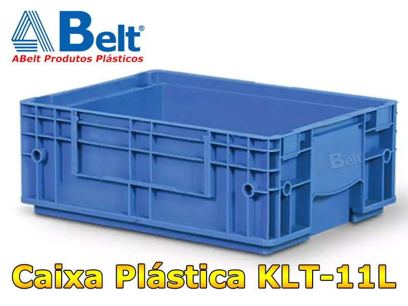 Caixa K-Auto 4315 modelo KLT 11 na cor azul