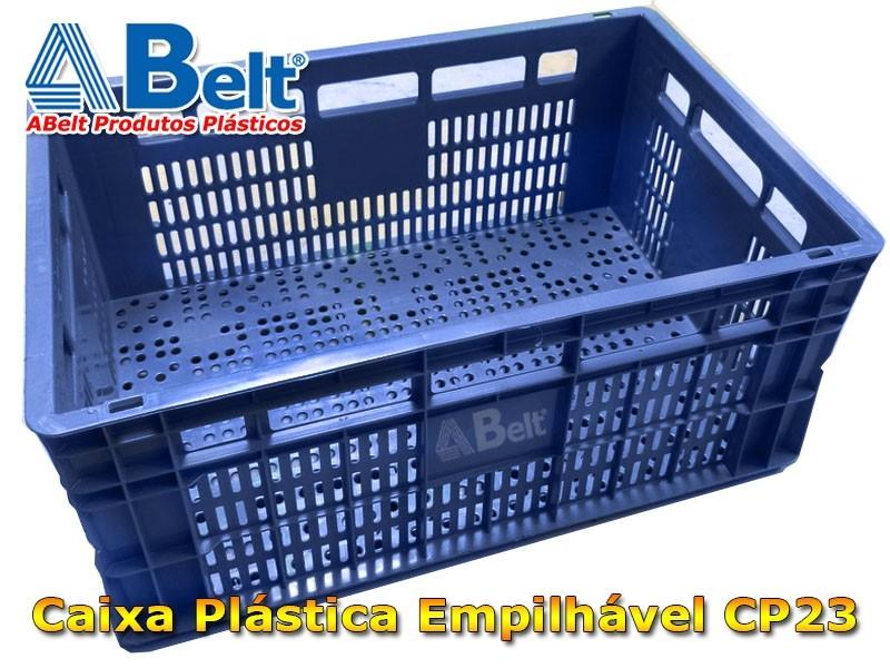 caixa-plastica-empilhavel-cp-23-na-cor-azul