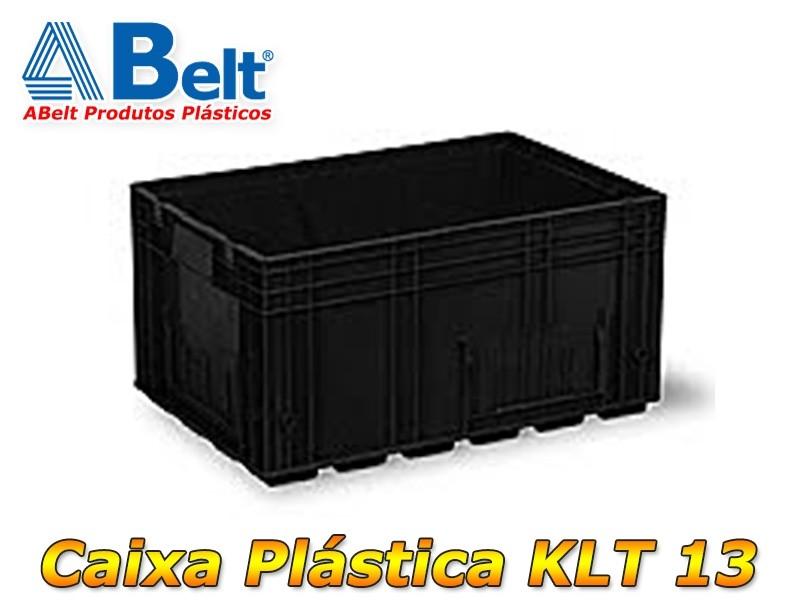 Caixa Plástica KLT 13 preta