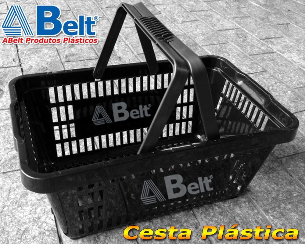 cestinha plastica