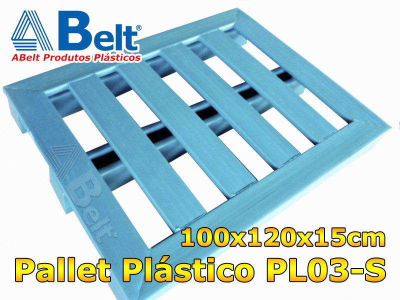 Palete Plástico 1000x1200