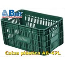 Caixa Plástica Agrícola Vazada AB-47L cor verde
