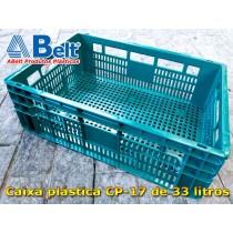 caixa-plastica-cp-17-verde-de-33-litros