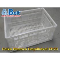 caixa-plastica-empilhavel-cp-23-na-cor-branca
