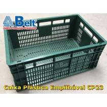 caixa-plastica-empilhavel-cp-23-na-cor-verde