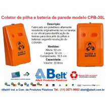Coletor de pilhas  CPB-30L