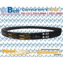 Correia em V Perfil B-22 Power Span Continental Contitech