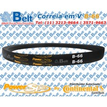 Correia em V Perfil B-66 Power Span Continental Contitech