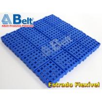 Estrado Flexível 24x24cm na cor azul