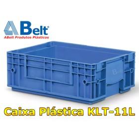 Caixa Plástica Industrial KLT 11 na cor azul