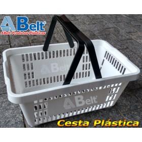 Cesta Plástica CP16 na cor branca (1 unidade)